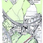 Llanfoist historic map