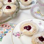 Raspberry Viennese Cupcakes