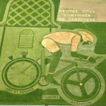Some of the amazing Land Art created in fields for the Tour de France